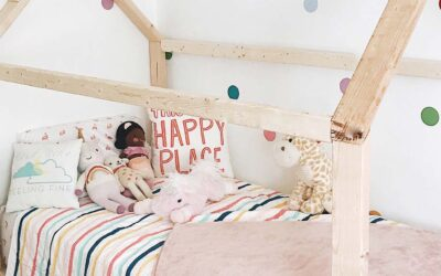 Pia's House Bed Frame | Silk & Snow